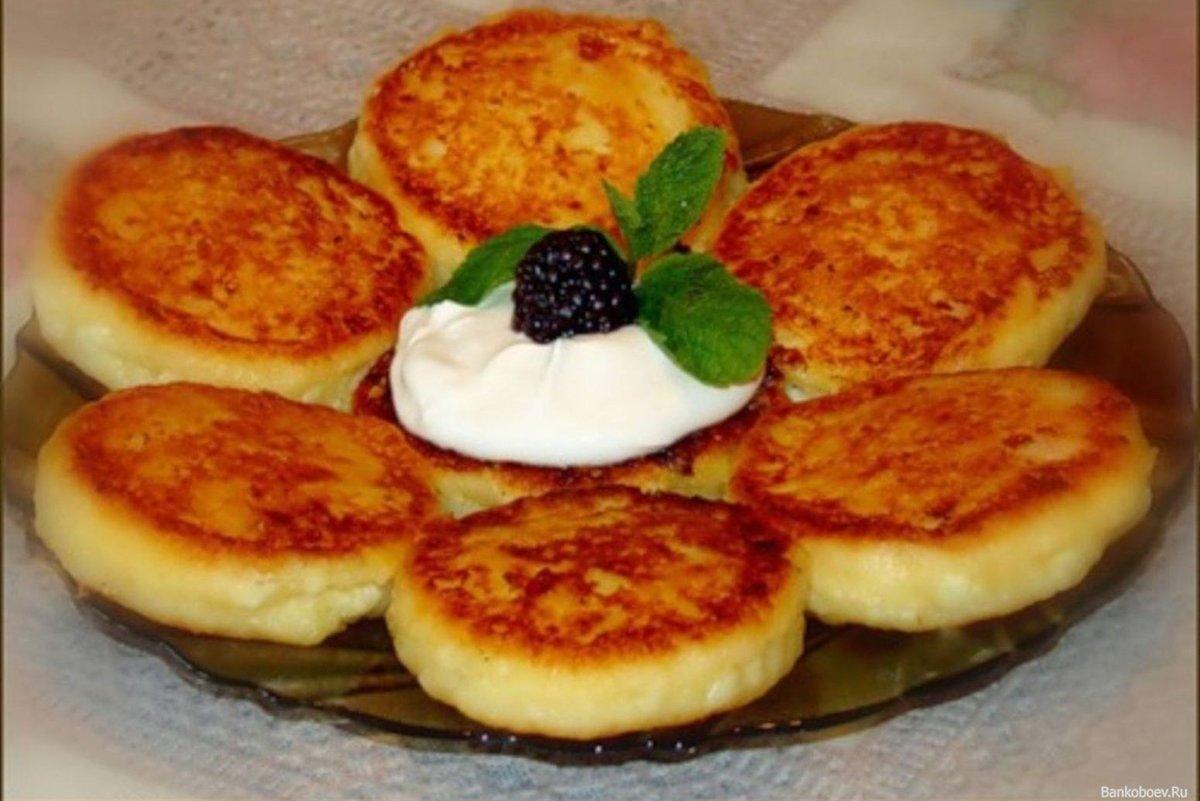 Сырники из творога на сметане рецепт пошагово