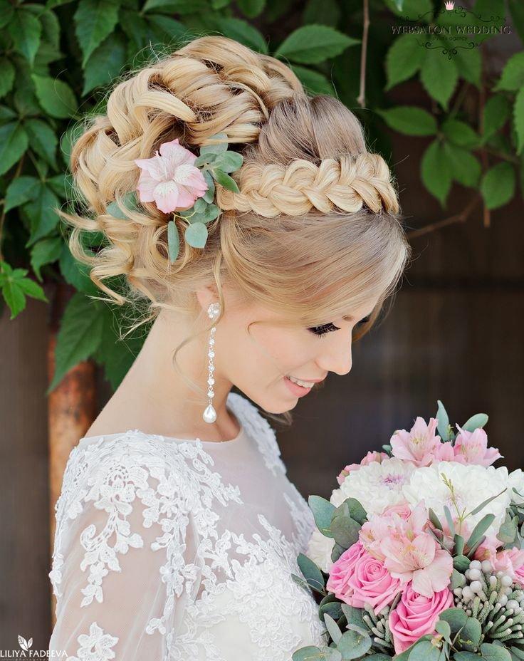 свадебные прически с волшебными прядями