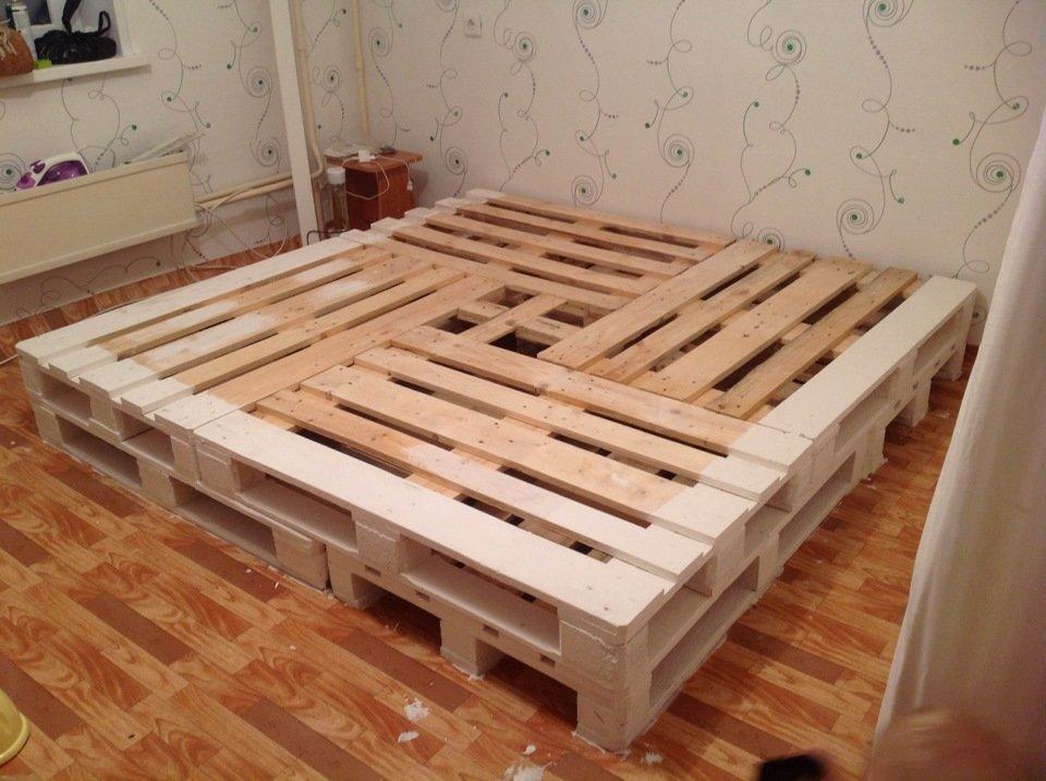 Кровать своими руками пошагово 92
