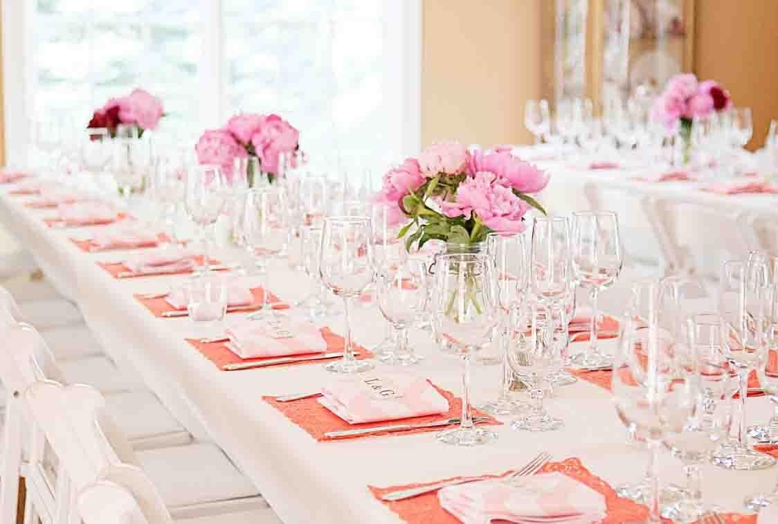Как украсить столы на свадьбу 67