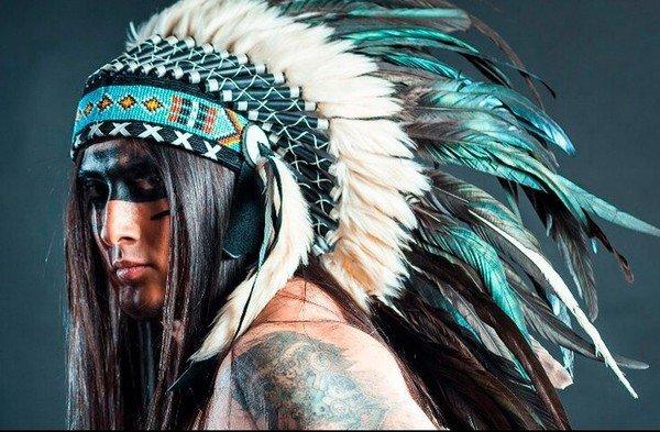 Роуч индейца своими руками