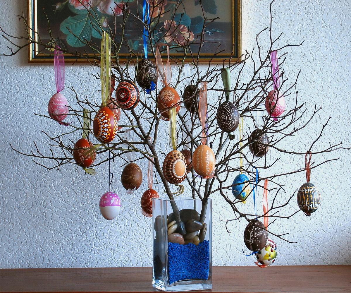 Дерево украсить своими руками