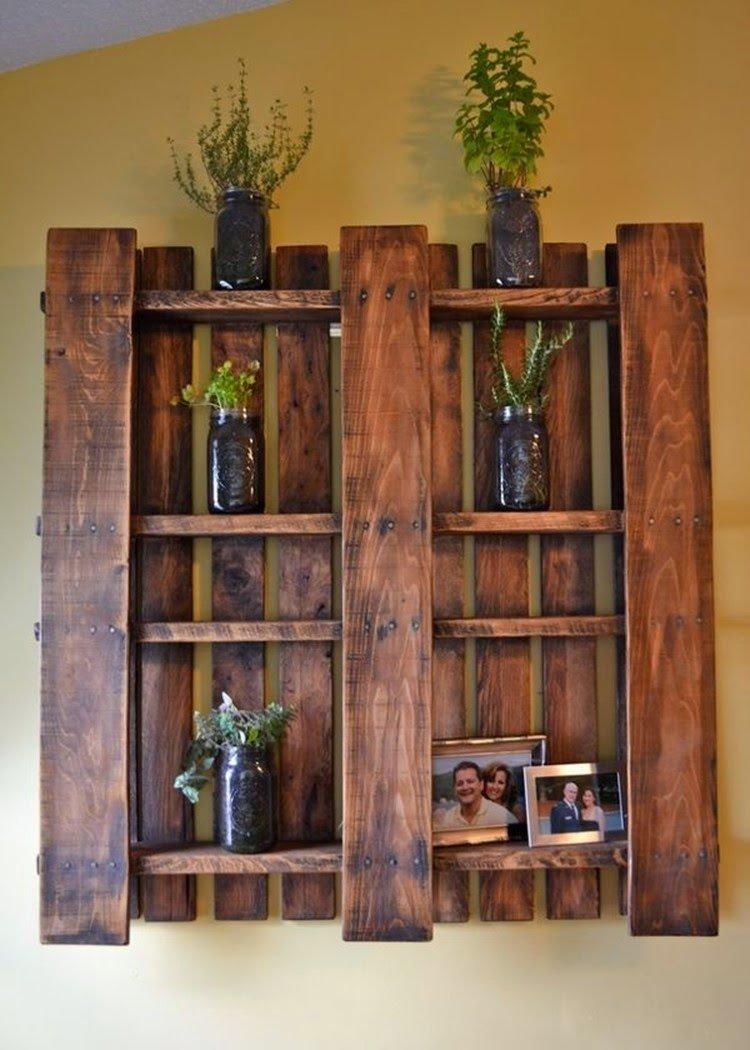 Деревянный стеллаж для дачи своими руками