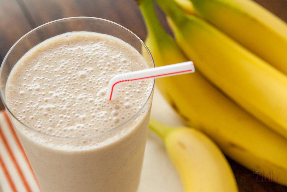 Как сделать смузи банан молоко 852