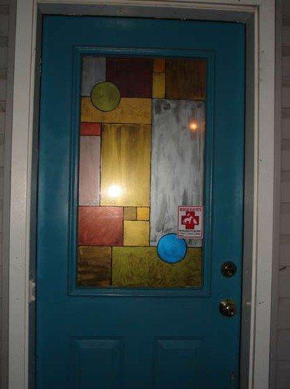 Как обновить стекло в двери