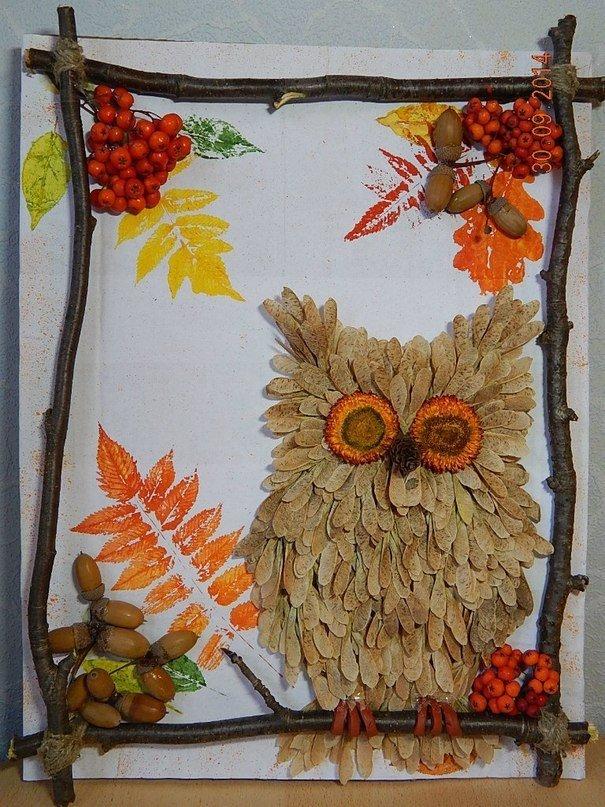 Осенняя поделка своими руками в школу фото