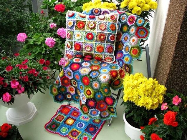 Вязание красивых вещей для дома крючком 26