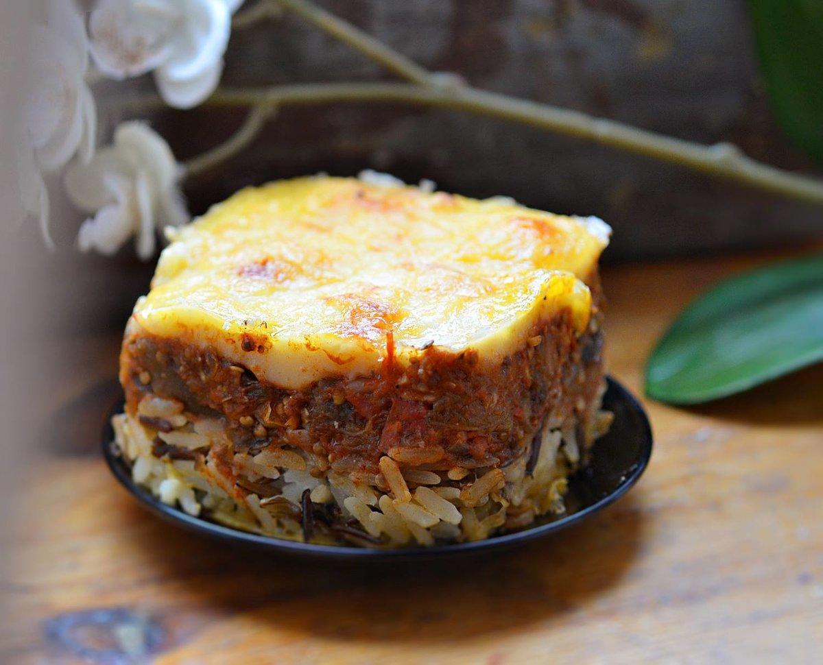 Рецепт мусаки с баклажанами и рисом рецепт