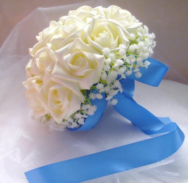Искусственные букеты невест своими руками 803