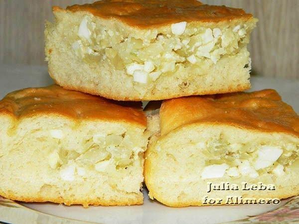 Пирог с капустой и яйцом рецепт пошагово с фото