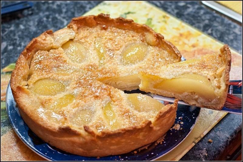 Пирог с грушей рецепт