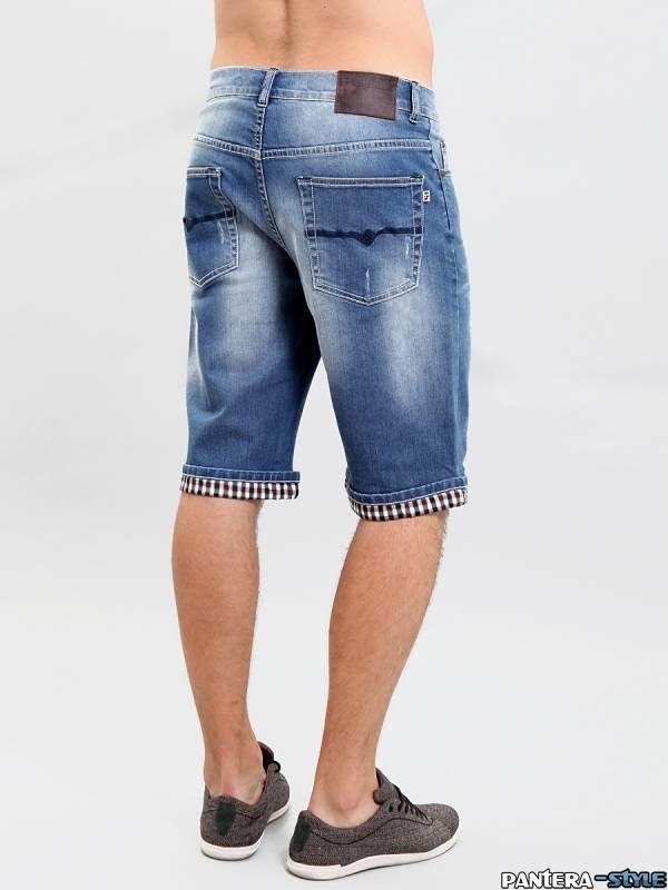 Как сделать из мужских джинсов бриджи