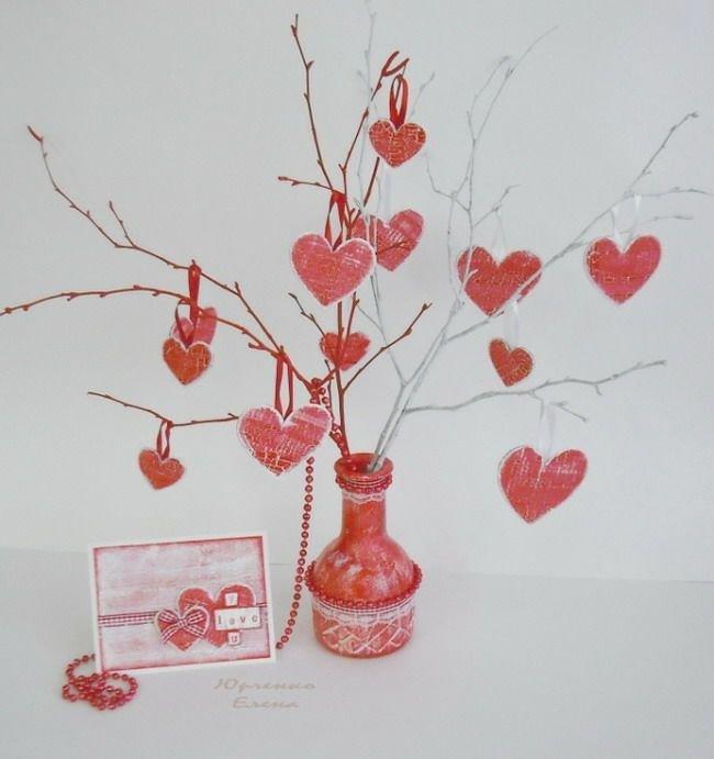 Цветы ко дню валентина своими руками 379