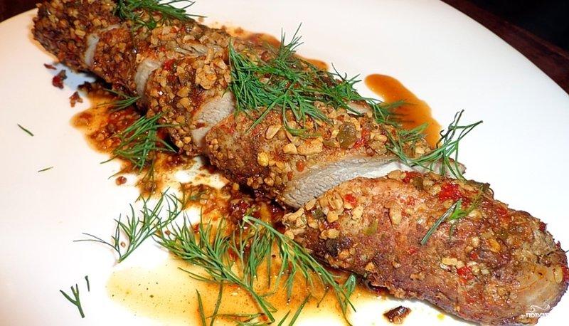 Рецепт с свиной вырезкой