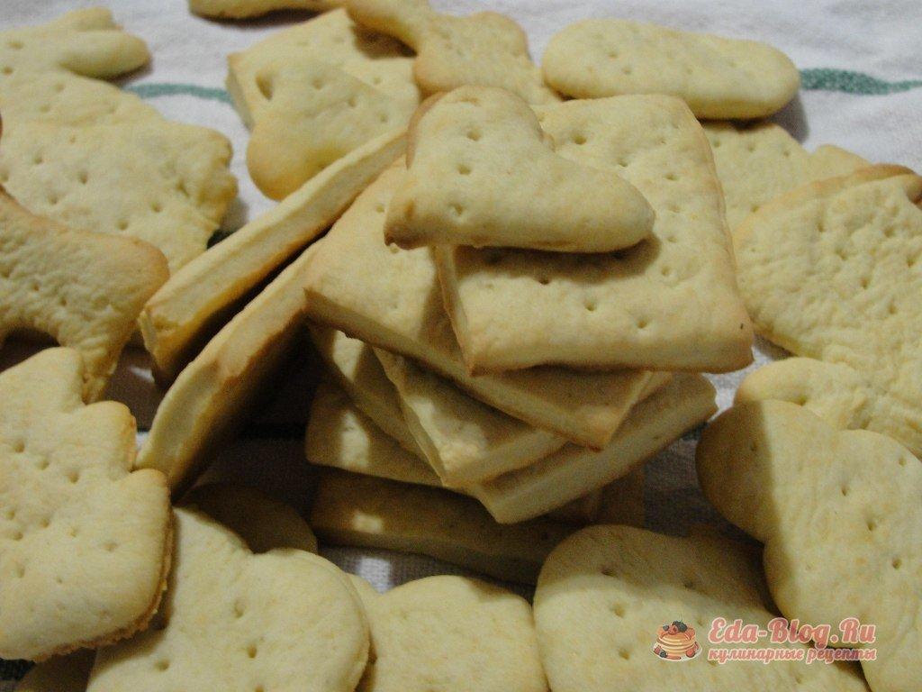 Галетное печенье это приготовить