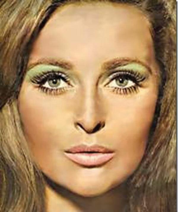 Фото макияжа 70 годов