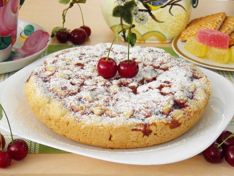 Рецепты пирогов с вареньем простые