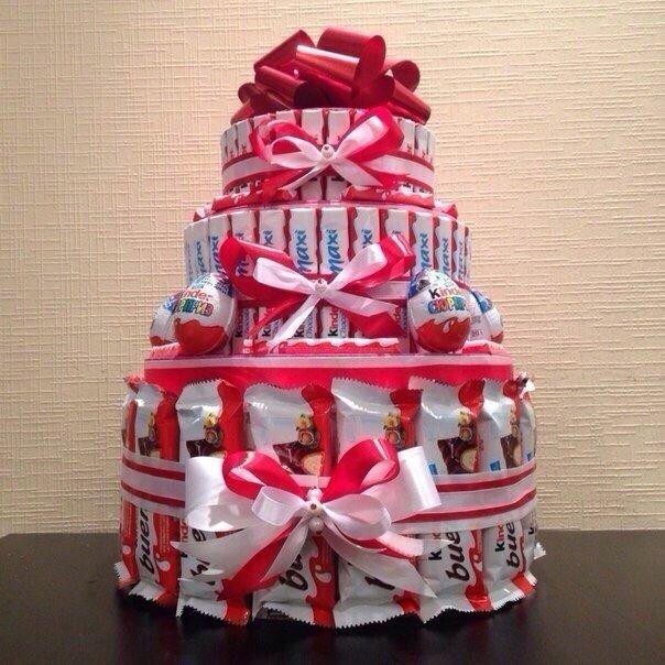 Как сделать подарок ребенку из сладостей