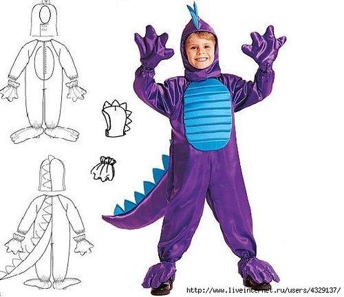 Как пошить карнавальный костюм для мальчика