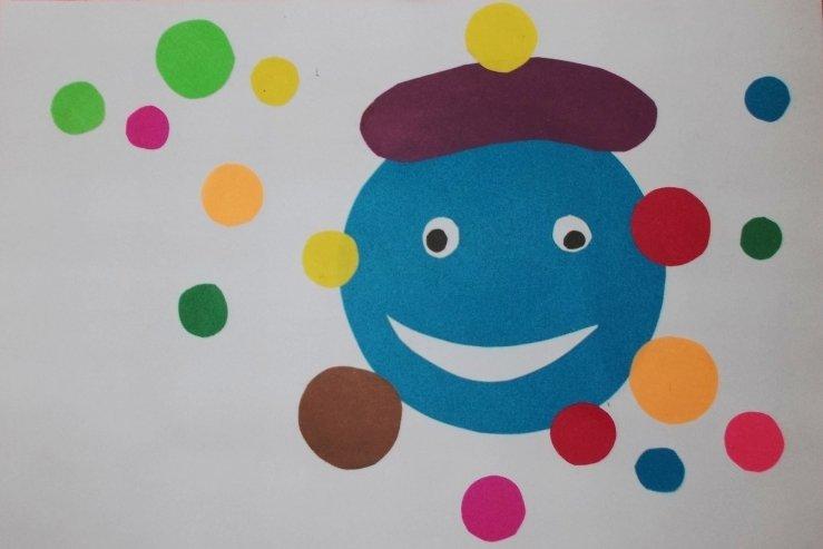 Детские поделки с цветной бумаги 29