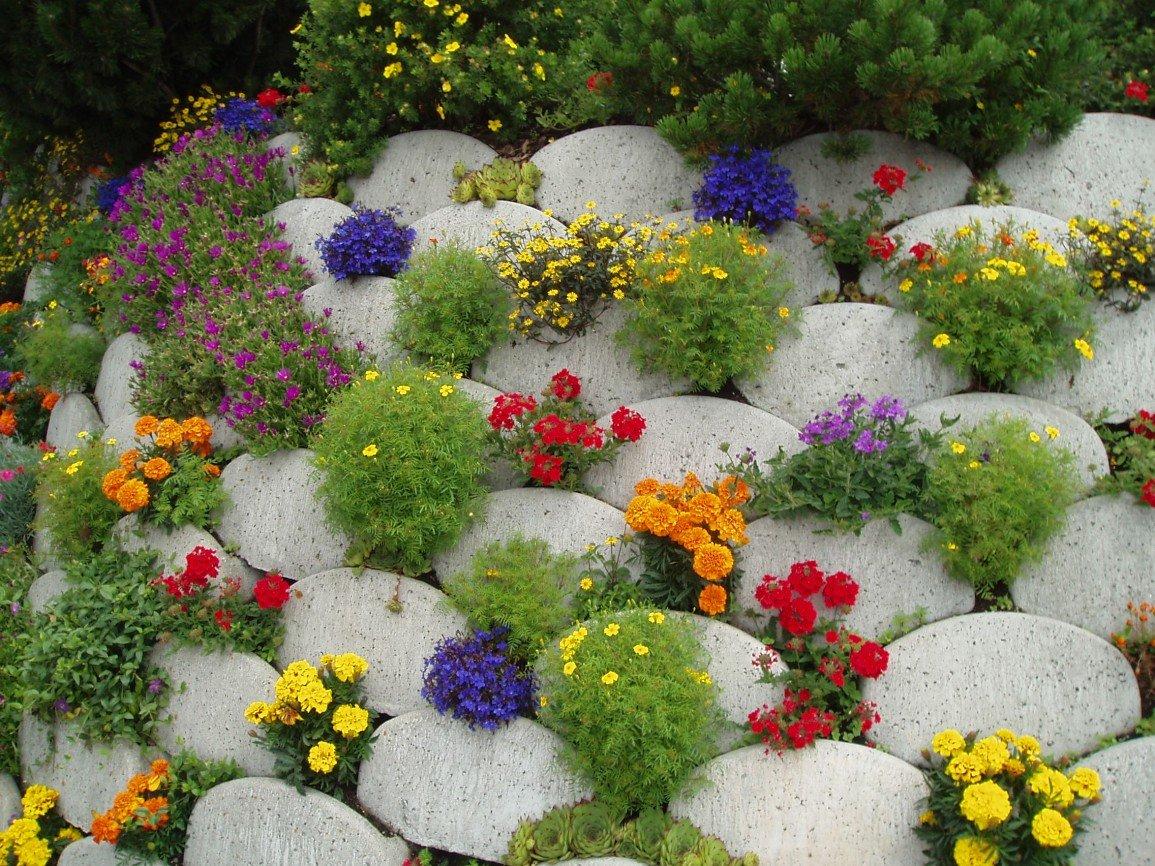 Как сделать клумбу из многолетних цветов на даче