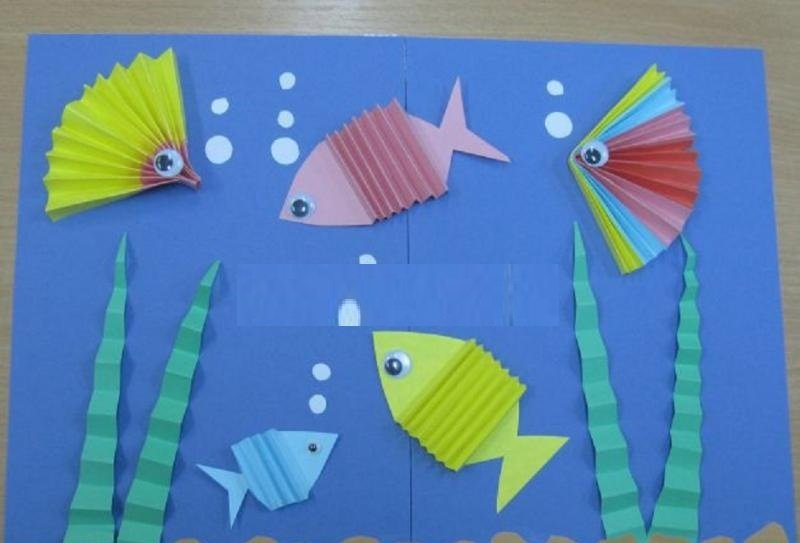 Поделки из цветной бумаги руками детей