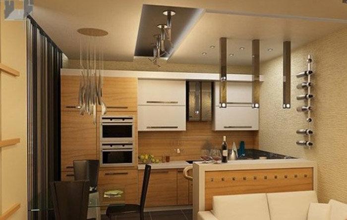 Comfort представлено как из кухни сделать кухню-гостиную фото ряд: