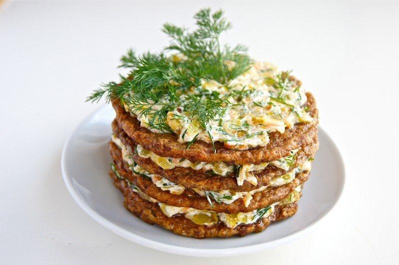 Печеночный торт рецепт из куриной печени рецепт пошагово в