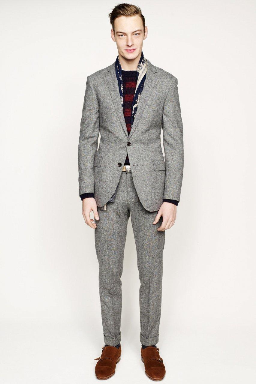 Mens suit fashions 2005 M: Skagen Men's Grenen Quartz Titanium