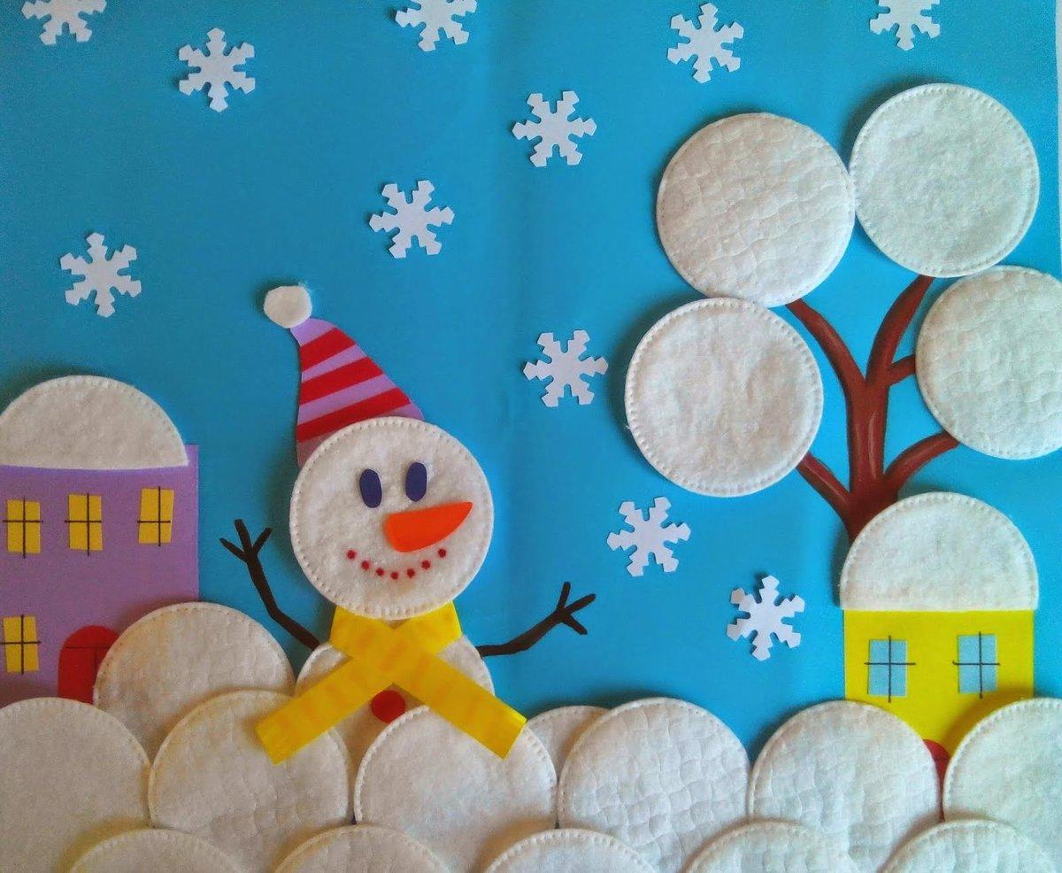 Поделка на тему зимушка зима своими руками