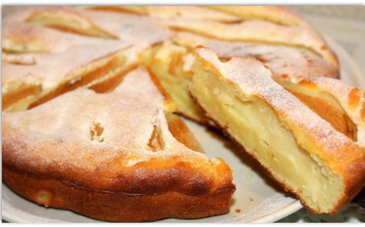 Грушёвый пирог рецепт