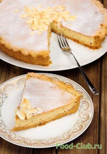Рецепт пирог творожный с бананом