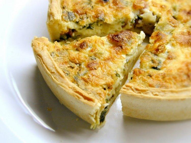Овощные пироги рецепты 142