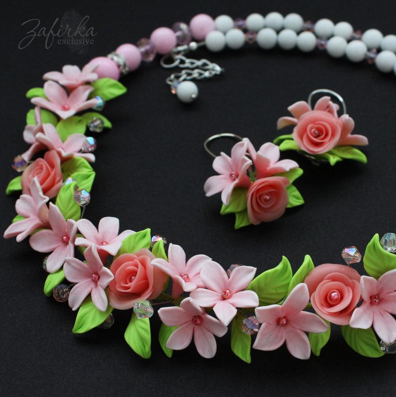 Цветы с полимерной глины своими руками