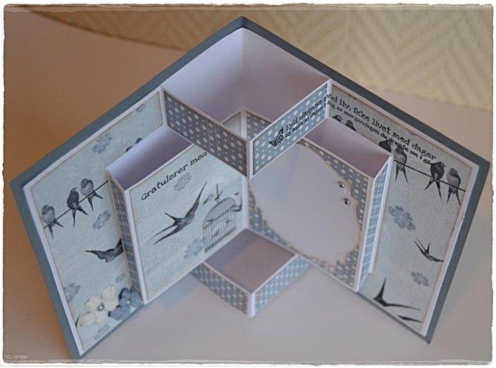 Необычные формы открыток скрапбукинг