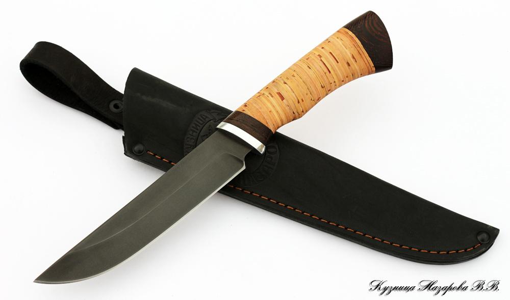Берестяные ручки для ножей своими руками