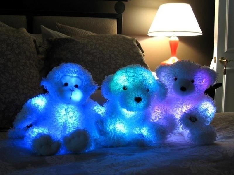 Сделать своими руками светящиеся игрушки