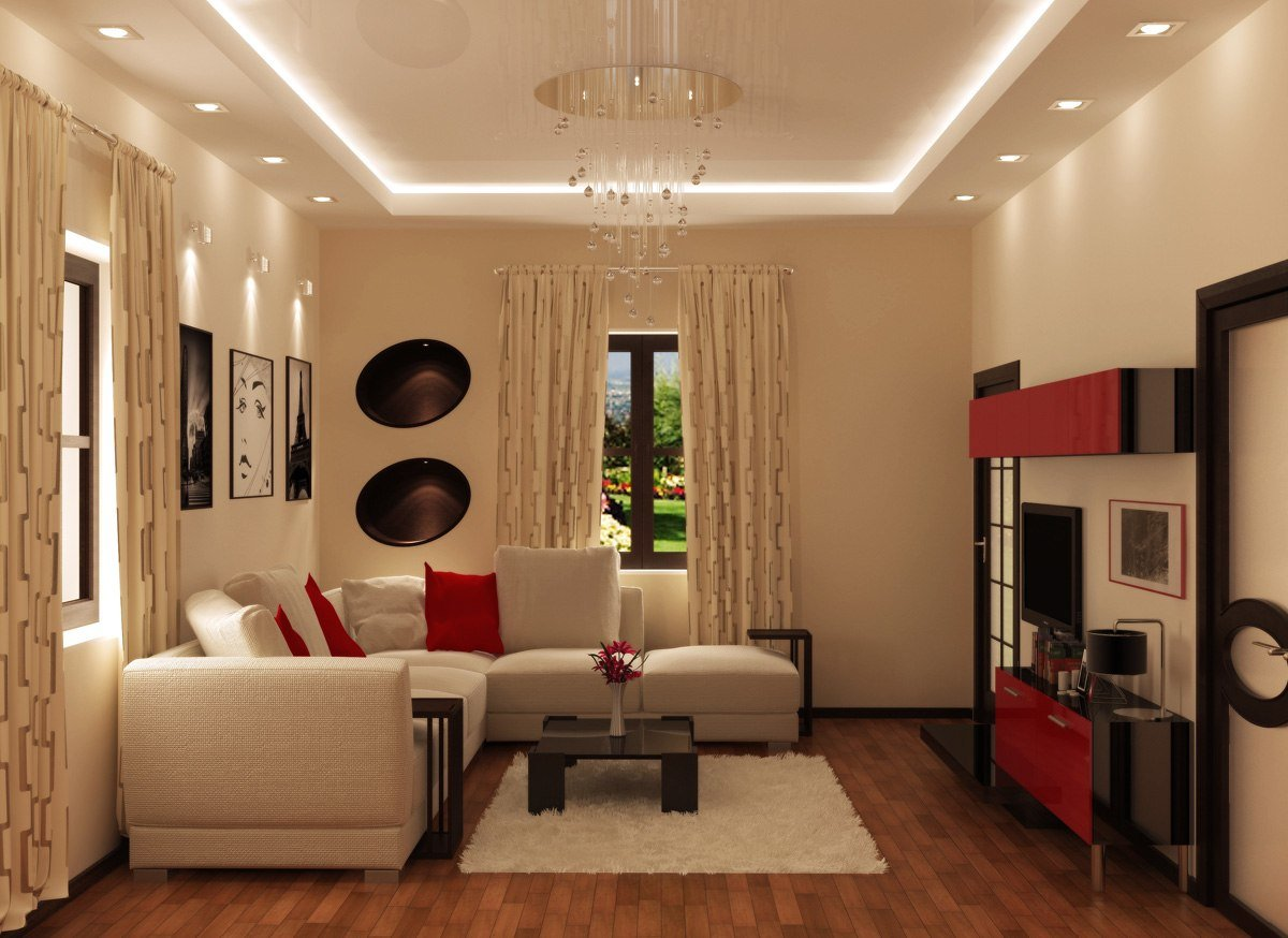 Интерьер гостиной 18 кв.м фото с угловым диваном