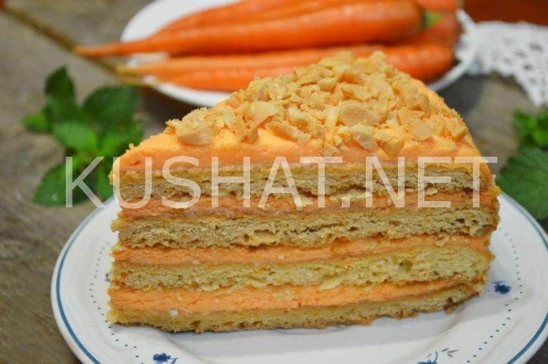 Лучший морковный торт рецепт с фото пошагово