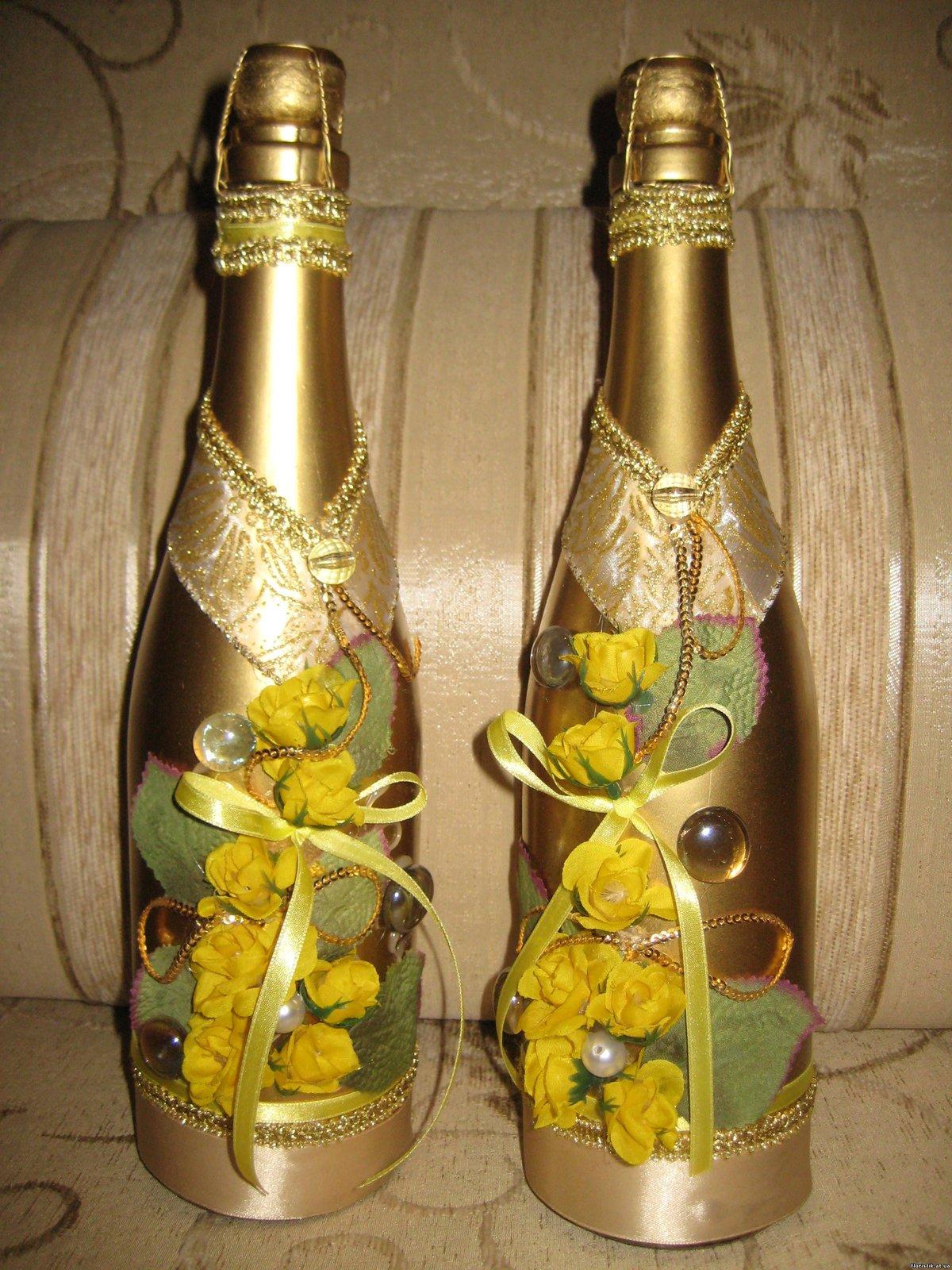 Красивая шампанское своими руками 668