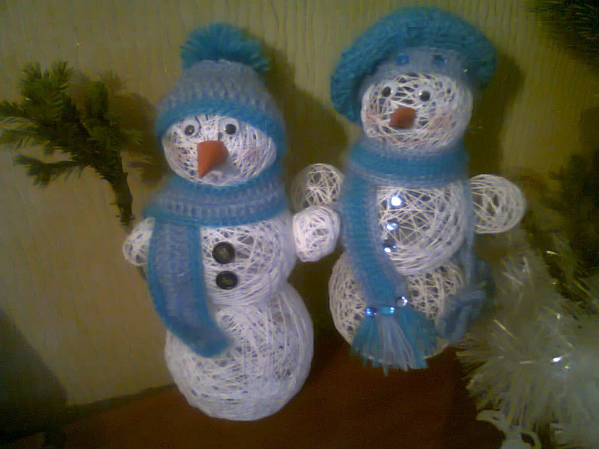 Снеговик своими руками: 7 мастер-классов и 40 фото поделок