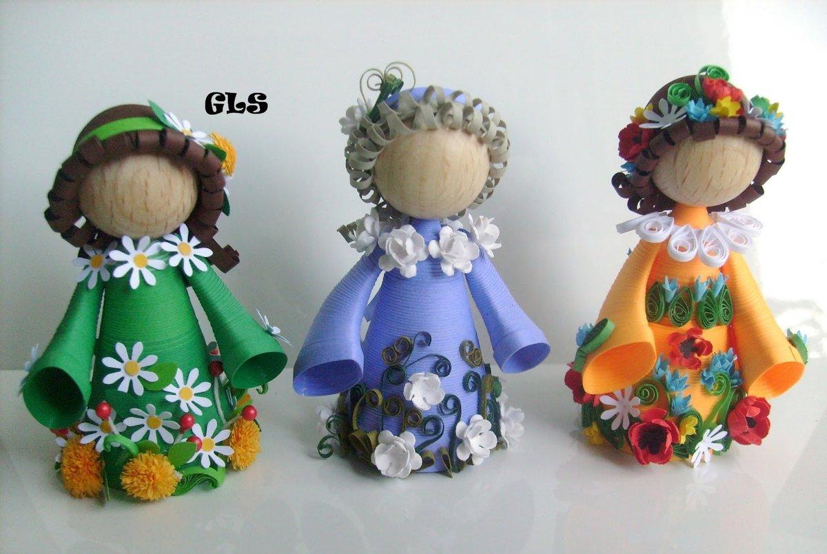 Поделки кукол своими руками в садик
