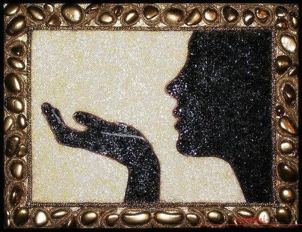 Как сделать картина из бисера своими руками