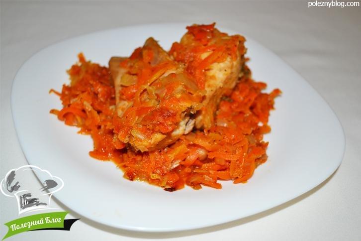 Тушеная рыба с морковью и луком рецепт с фото в мультиварке