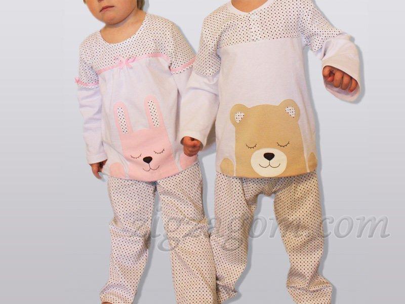 Из чего сшить пижаму для ребенка 158