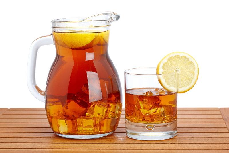 Холодный напиток из чая
