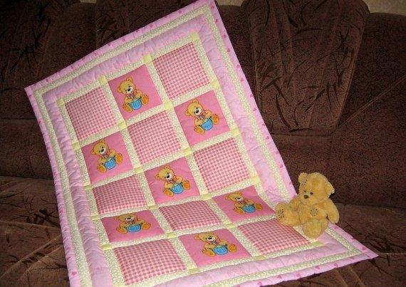 Как сшить одеяло для детей