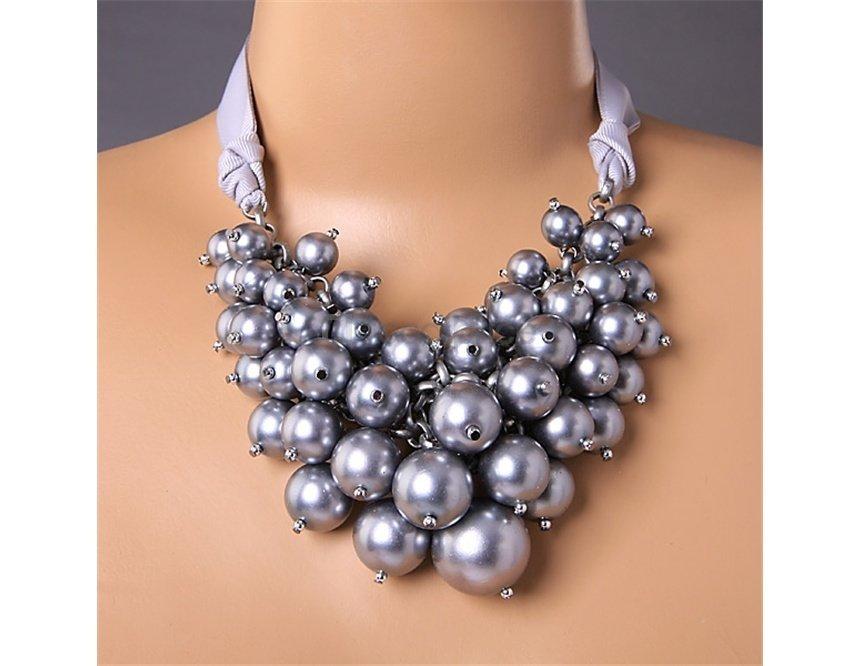 Ожерелье с бусинами своими руками фото 239