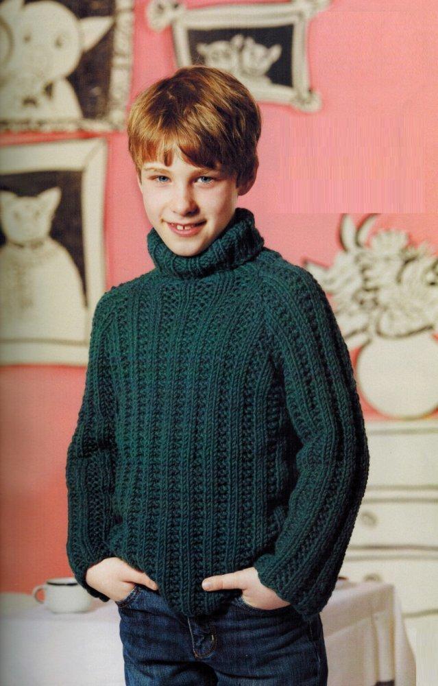 Вязание для мальчика 8 9 лет 60