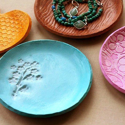 Как сделать тарелку из глины